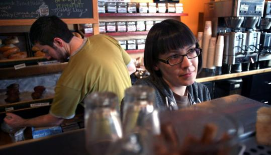 """It is a little unsettling to realize that more people in this state want to vote [Republican] than I would have suspected, so that does make me feel a little isolated,'' said Annabel Gill at the 1369 Coffee House in Cambridge."