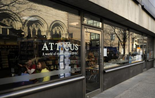 Most people interviewed outside the Atticus Bookstore disagreed with the English-only policy.