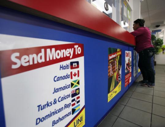 Money transfer company