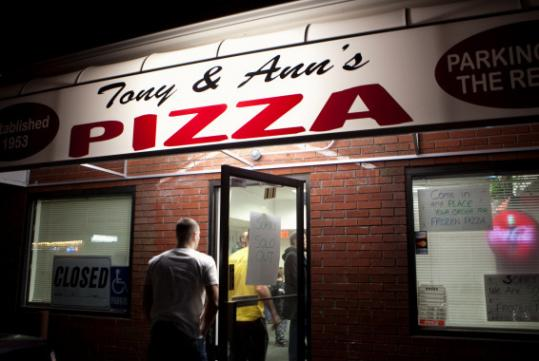 The lights are back on at Tony & Ann's, although at a new location.