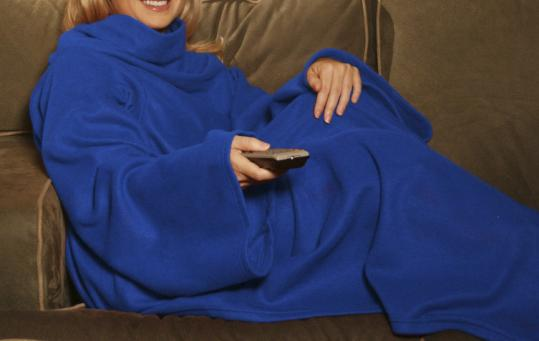ALLSTAR PRODUCTS GROUP VIA AP The Snuggie, as seen on television infomercials, will be the attire of choice at the first Boston-area Snuggie Pub Crawl.