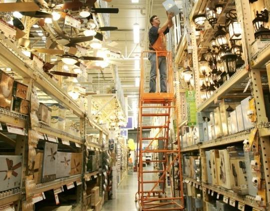 Atlanta-based Home Depot will begin cutting 1,000 jobs at US stores by the end of this week, a spokesman said.