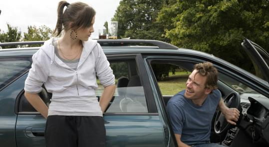 Mia (Katie Jarvis), a 15-year-old living in a housing project, is drawn to her mother's new boyfriend, Connor (Michael Fassbender), in Andrea Arnold's film.