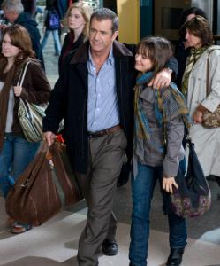 "Mel Gibson (with Bojana Novakovic) stars as a Boston homicide detective in the thriller ""Edge of Darkness.''"