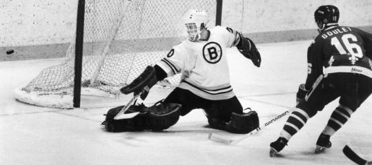 In 1982, the Bruins thought they had their goalie of the future, but it wasn't to be.