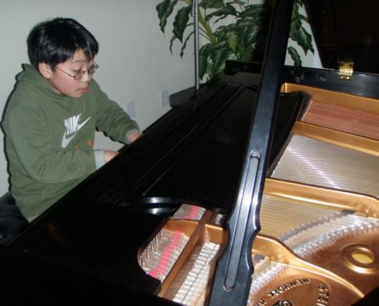 Fourteen-year-old pianist George Li will join his hometown Lexington Symphony for two performances next weekend, including a children's workshop at 2 p.m. Sunday.