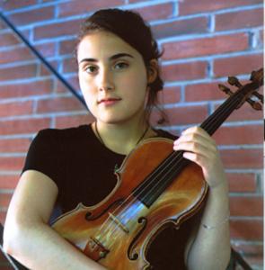 Violinist Gergana Haralampieva won a $10,000 award.