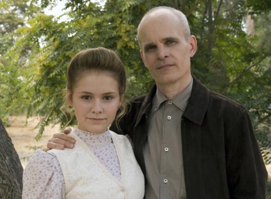 "Cassi Thomson and Zeljko Ivanek in ""Big Love.''"