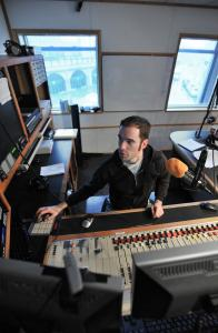 In the WFNX-FM studio, where he does the afternoon drive-time show, DJ Adam 12 survived WBCN's demise.