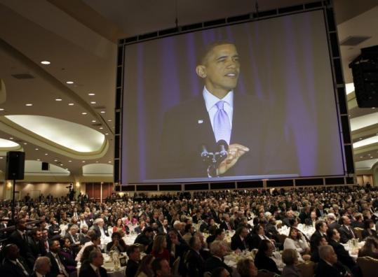 Speaking yesterday at the National Prayer breakfast, President Obama urged leaders to be empowered by faith.