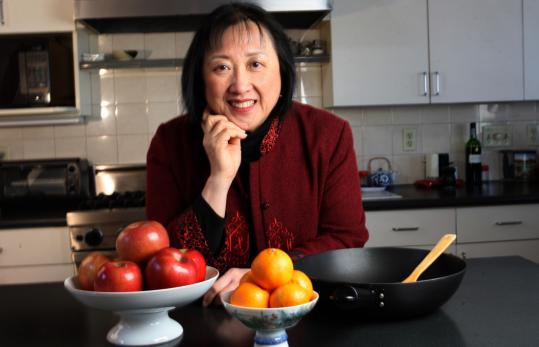 "Helen Chen, daughter of the late restaurateur Joyce Chen, is the author of the cookbook ""Easy Asian Noodles'' and has her own line of cookware."