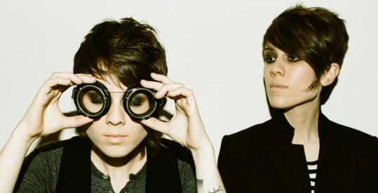 Sara (right) says she and her sister, Tegan, are motivated by an obsession not to disappoint their fans.