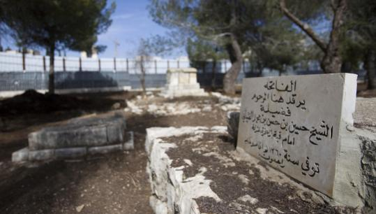 Descendants of Muslims buried in this Jerusalem cemetery say they will petition the United Nations against building a museum near the site.