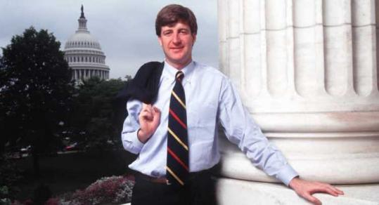 Patrick Kennedy was elected to Congress in 1994. When he took office, he became the youngest member of Congress.