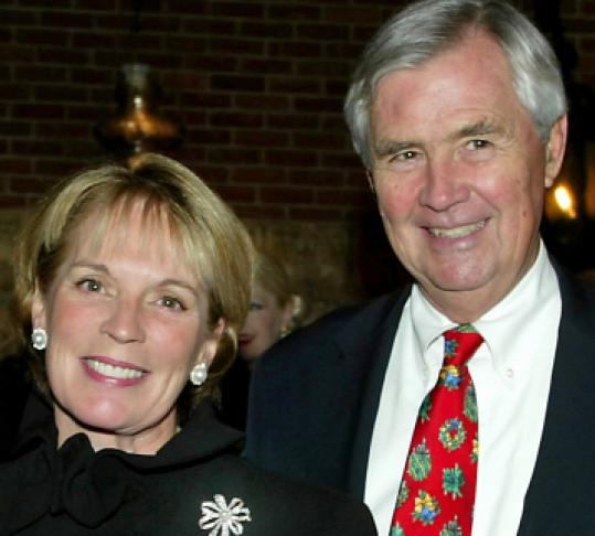 Barbara and Amos Hostetter founded the Barr Foundation.