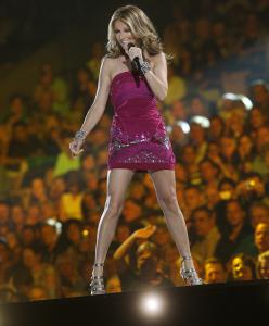 """The Red Sox and Boston are big things in the family,'' says Celine Dion, who calls Boston a lucky charm. She performed at TD Garden in August 2008."