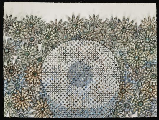 "Gail Spaien's ""In Winter #9'' at the Miller Block Gallery."