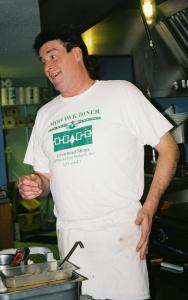 Mike Ryan, the Mohawk Diner owner.