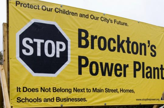 Opposition to a power plant in Brockton is strongest among people who live or work near the proposed location.