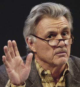 Author John Irving, shown at a 2006 reading of one of his works, is a second cousin of Amy Bishop.