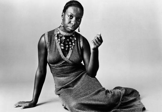 Family members say that Nina Simone, shown here in a studio shot taken about 1968, was marked for greatness as a child.