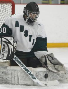 Brendan Leahy has backstopped the Cougars' impressive run to the No. 2 seed in the Super 8 tourney.