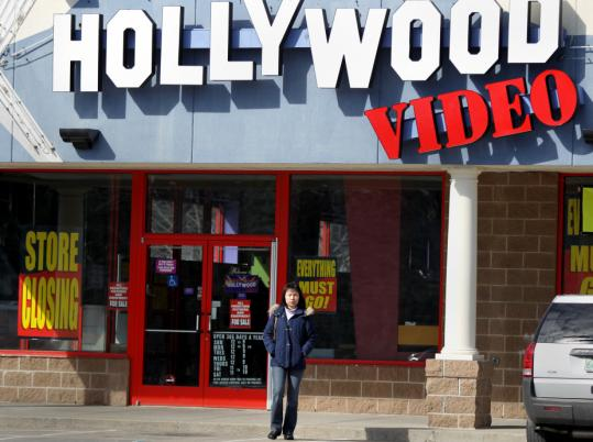 Movie Gallery Inc. filed for Chapter 11 protection and is closing 760 of its stores, including the Hollywood Video in Quincy.