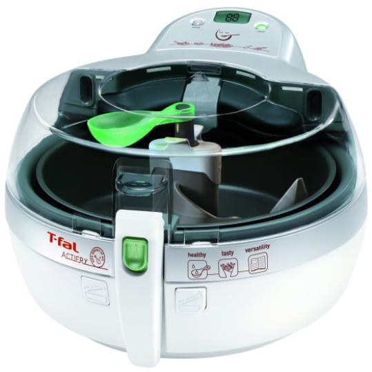 T-Fal says the ActiFry uses circulating hot air to disperse a thin layer of oil over fries, creating a crispy surface.