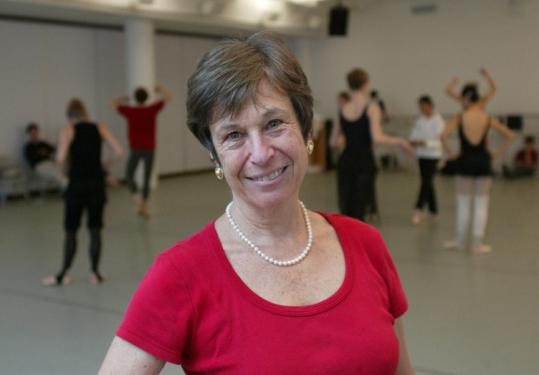 Ilona Copen, shown at Trisha Brown Studios, was executive director of the New York International Ballet Competition.