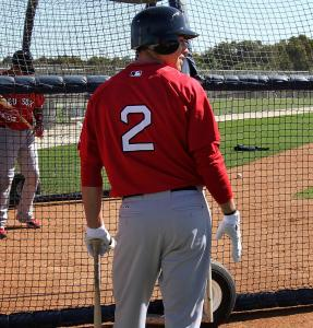 Center fielder Jacoby Ellsbury, once No. 46, was always circling around No. 2 - now he has it.