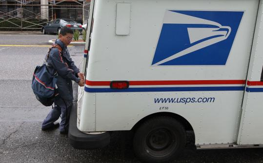 Postmaster General John Potter said he would like to see mail delivery cut to five days a week starting next year.