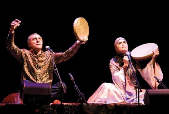 Alim and Fargana Qasimov bring the centuries-old classical music of Azerbaijan to Brandeis University's Slosberg Music Center Saturday evening.
