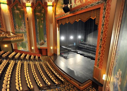 The Paramount Theatre (above) has not been so much restored as replicated, retaining the original's grandeur and theatricality while accommodating a new stage and orchestra pit.