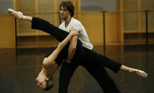 Wayne McGregor's dancers were studied over two weeks by a psychologist.