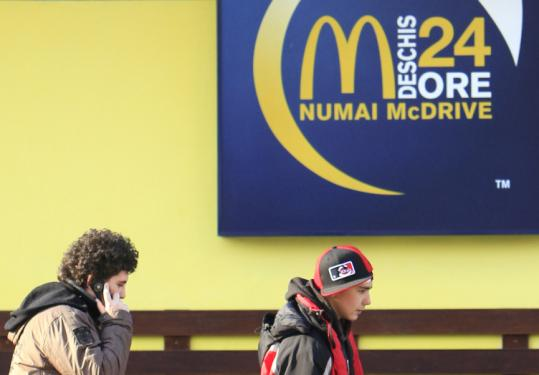 For Romanians, fast-food shops are a signpost from the West that they have arrived, but modernity has raised health issues.