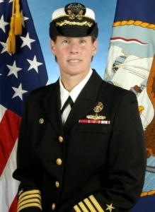 Holly Graf was relieved of command of a guided-missile cruiser. She was criticized for swearing at her crew.