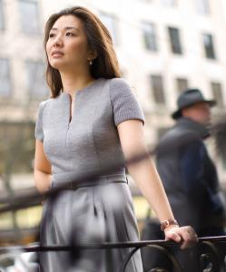 Jeannie Suk is helping Charles Schumer draft legislation that would give American fashion designers copyright protection.