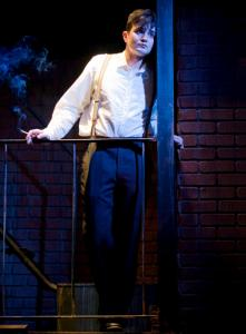Marc Dante Mancini plays young Tom Wingfield in ''The Glass Menagerie.''
