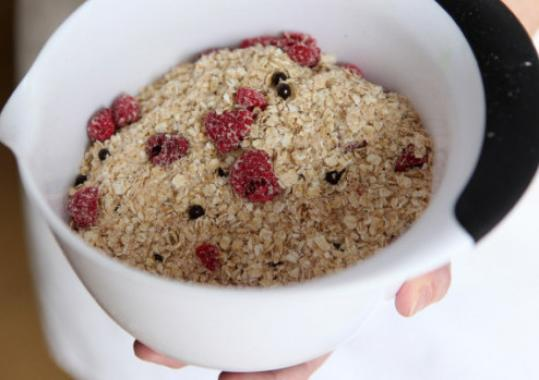 Beth Gallo's Mad Hectic Oatmeal is sold at three Whole Foods Market locations.