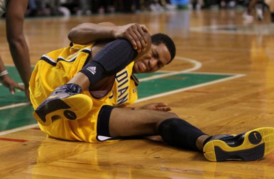 Danny Granger and the Pacers endured a litany of pains in their 19-point loss to the Celtics last night.
