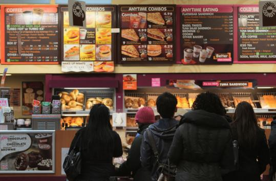 Dunkin' Donuts said it entered a few new markets, such as Louisville, Ky., Birmingham, Ala., and Dayton, Ohio.