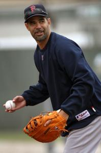 Learning first base could increase Mike Lowell's value to the Red Sox, or another team.