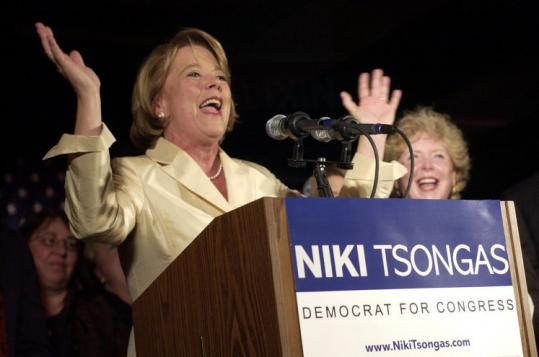 US Representative Niki Tsongas beat Republican opponent Jim Ogonowski by 6 percentage points in her 2007 special election.