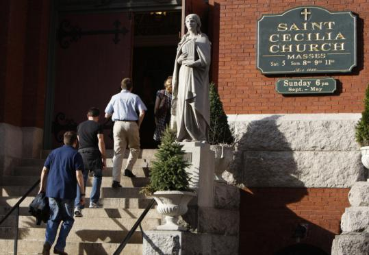 Worshipers at St. Cecilia's in the Back Bay hailed the pope's letter for being a step in the right direction.