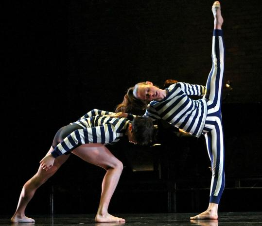 "Joshua Tuason (left) and Mandy Kirschner in the world premiere of Stephen Petronio Company's ""I Drink the Air Before Me'' in New York last year."