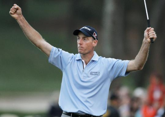 A win in the Transitions allowed Jim Furyk to raise his arms in triumph on the PGA Tour for the first time since 2007.