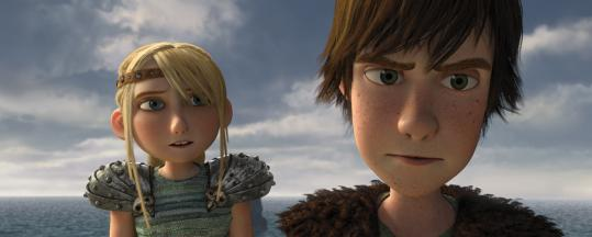 """How to Train Your Dragon'' centers on the young Viking Hiccup (voiced by Jay Baruchel), who impresses Astrid (America Ferrara) with his ability to train the dragon Toothless."