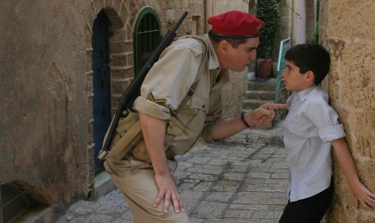 Alfred Molina plays a British soldier and Ido Port plays a 12-year-old militant.