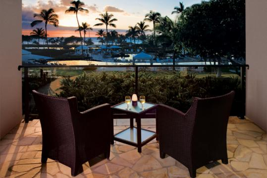 Conserve: The Waikoloa Beach Marriott Resort and Spa on Hawaii&#8217;s Big Island credits guests up to $25 per bag.