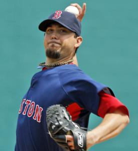Josh Beckett will start two of the Red Sox' opening five games.